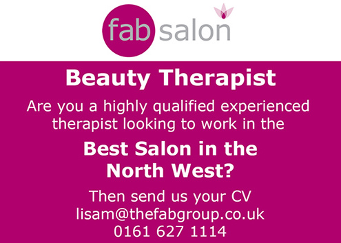 Experienced Beauty Therapist Wanted - The Fab Salon - Saddleworth - Oldham
