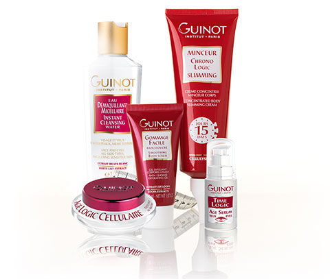 Guinot products products available to buy at the fab salon