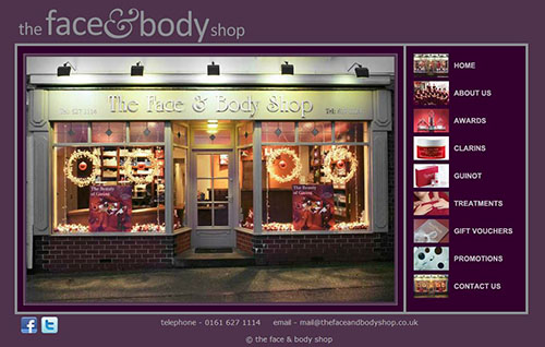 the face and body shop now rebranded as the fab salon