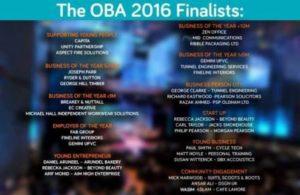 oldham business awards 2016