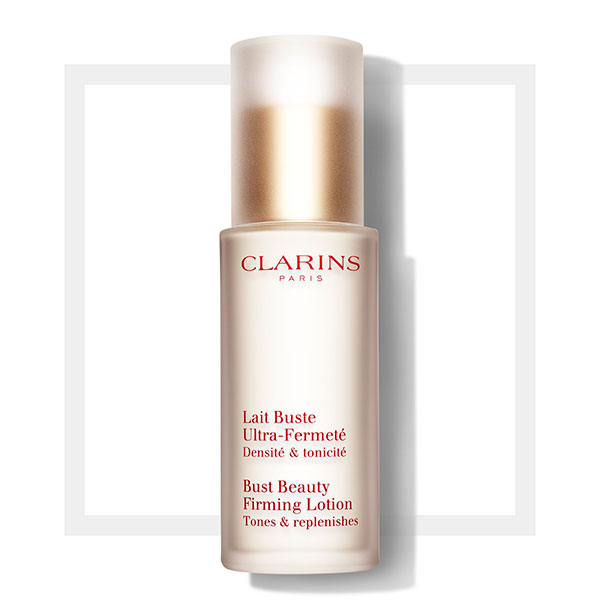Get Your Body Holiday Ready With Clarins Bust Beauty Firming Lotion!