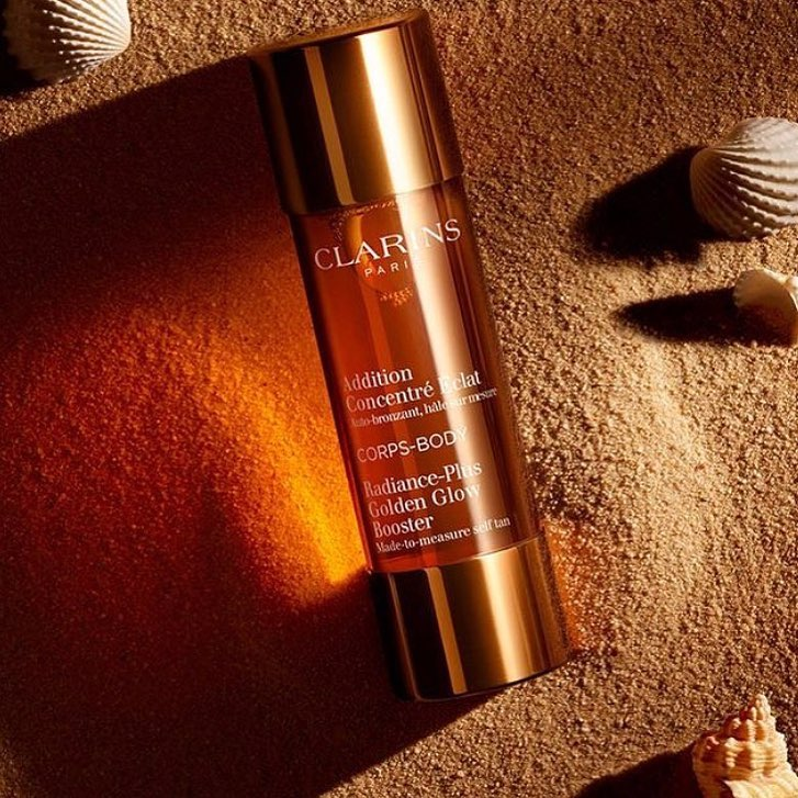 Keep Your Tan Topped Up With Clarins Radiance Plus Golden Glow Booster!