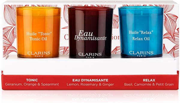 EXCLUSIVE Clarins Mini Candles