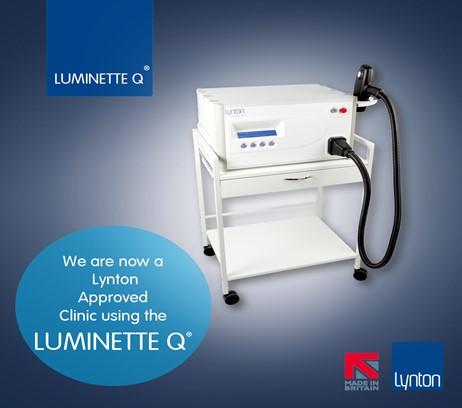 The Luminette Q tattoo removal machine